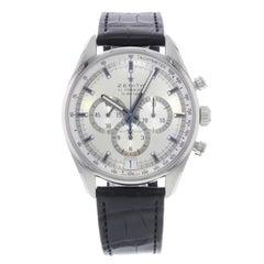 Zenith El Primero Chronograph Silver Dial Steel Men's Watch 03.2040.400/04.C496