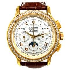 Zenith El Primero Chronomaster Chronograph BNIB Diamond Bezel