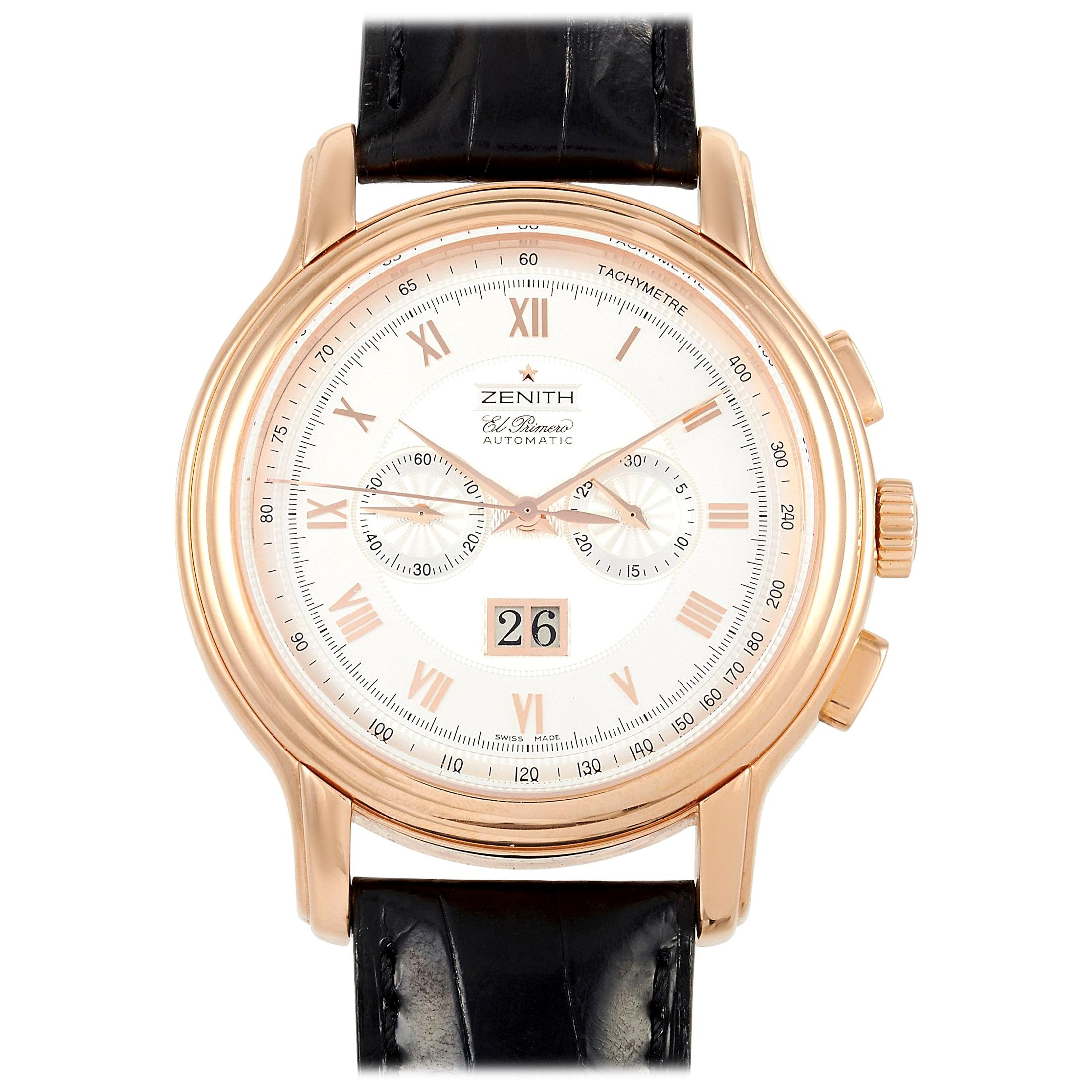 Zenith El Primero Grande Chronomaster Men's Watch XXT 18.1260.4010/01.C505