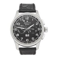 Zenith El Primero Pilot Chronograph Stainless Steel 03.2410.4010/21.0722
