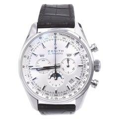 Zenith El Primero Stainless Steel 410 Chronograph Watch Ref. 03.2091.410