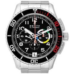 Zenith El Primero Stratos Flyback Steel Men's Watch 03.2061.405