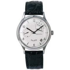 Zenith Elite 01.1125.655, White Dial, Certified and Warranty