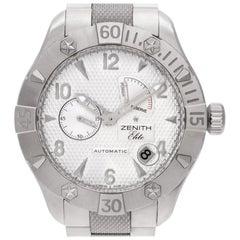 Zenith Elite 03.0516.685.21, Black Dial, Certified and Warranty