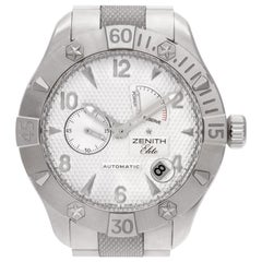 Zenith Elite 03.0516.685.21 Stainless Steel Cream Dial Automatic Watch