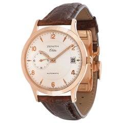 Zenith Elite 17/62.1125.680 Men's Watch in 18 Karat Rose Gold