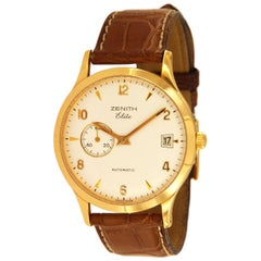 Zenith Elite 18 Karat Rose Gold Automatic Watch 17/62.1125.680