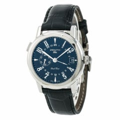Zenith Elite Port Royal V Dual Time 01/02.0451.682 Certified Authentic