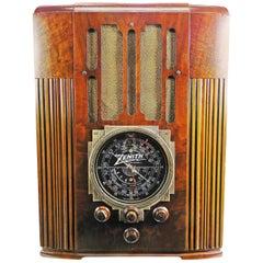Zenith Model 9-S-30 Tombstone '1936' Art Deco Bluetooth Tube Radio