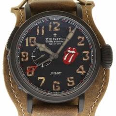 Zenith New 96.2435.693/97.C738 Titan Pilot Montre D'Aeronef Rolling Stones #ZN1
