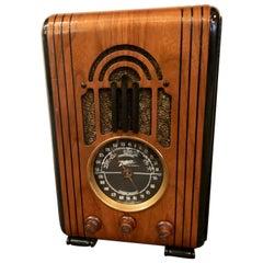 Zenith Restored Art Deco Tube Bluetooth 5-S-228 Radio