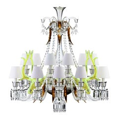 Zénith sur la Lagune Chandelier by Philippe Stark for Baccarat