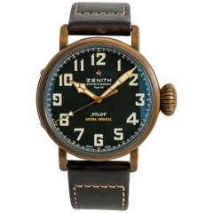 Zenith Type 20 29.2430.679, Black Dial, Certified and Warranty