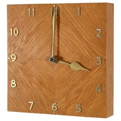 Zenith Wooden Wall Clock