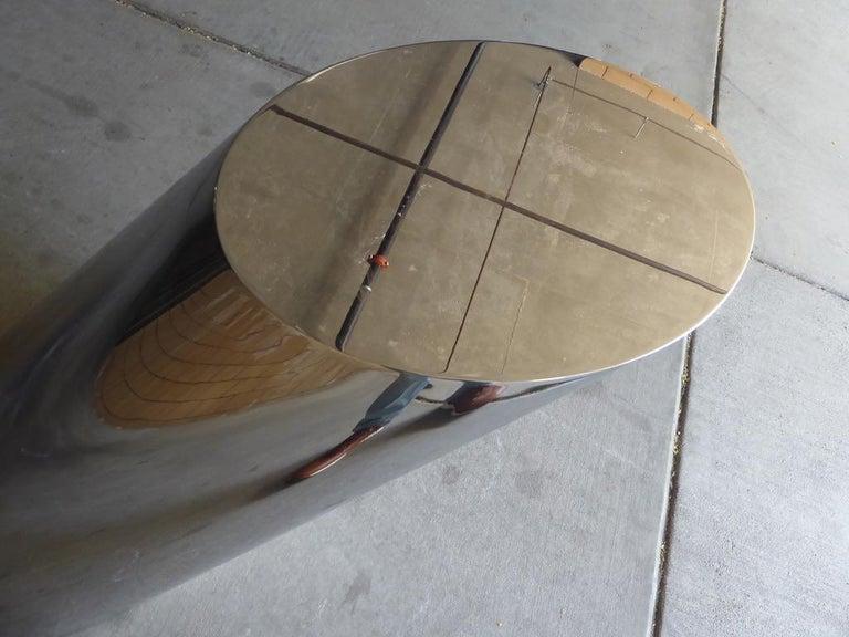 Zephyr Side Table Designed by J. Wade Beam for Brueton 1