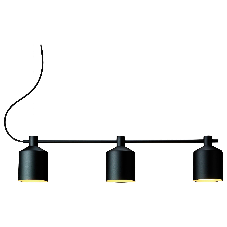 Zero LED Silo Trio Pendant by Note Design Studio