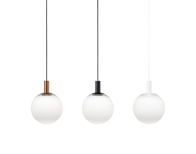 Swedish Zero Medium Fog Pendant in Black by Front Design, 1stdibs NY For Sale