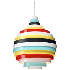Zero PXL Pendant in Multi Color by Fredrik Mattson