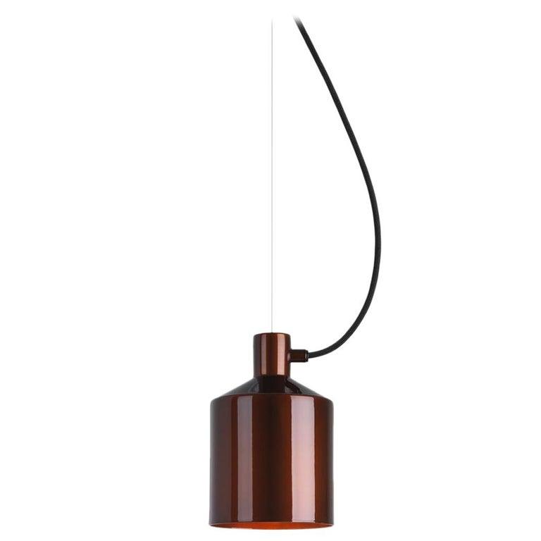 Zero Silo Pendant in Copper by Note Design Studio