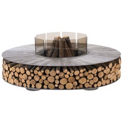 Zero Small Aluminium Fire Pit by AK47 Design