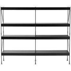Zet, Storage System, Black/Black, 2x4