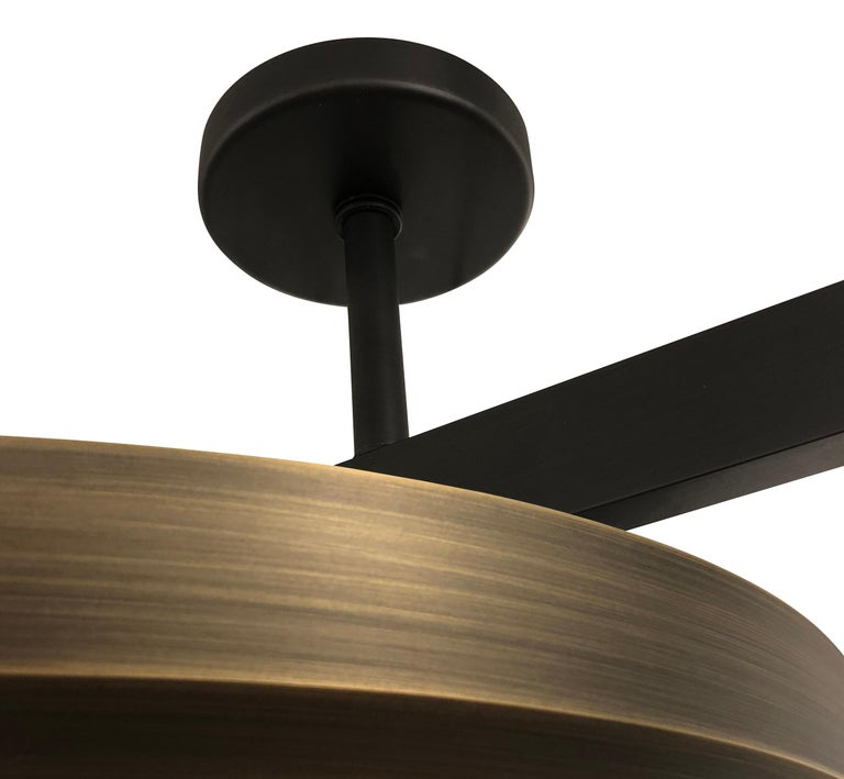 Zeta Ceiling Light by form A- Two Tone Finish In New Condition For Sale In New York, NY