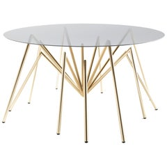 "Zeville ""Ennox 7 Spider"", Swiss-Made Gold-Plated Lounge Table"