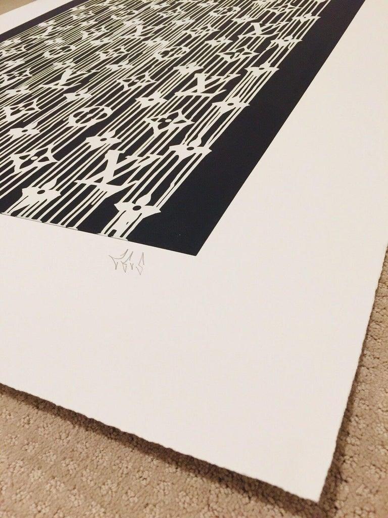 Liquidated Louis Vuitton - Street Art Print by Zevs