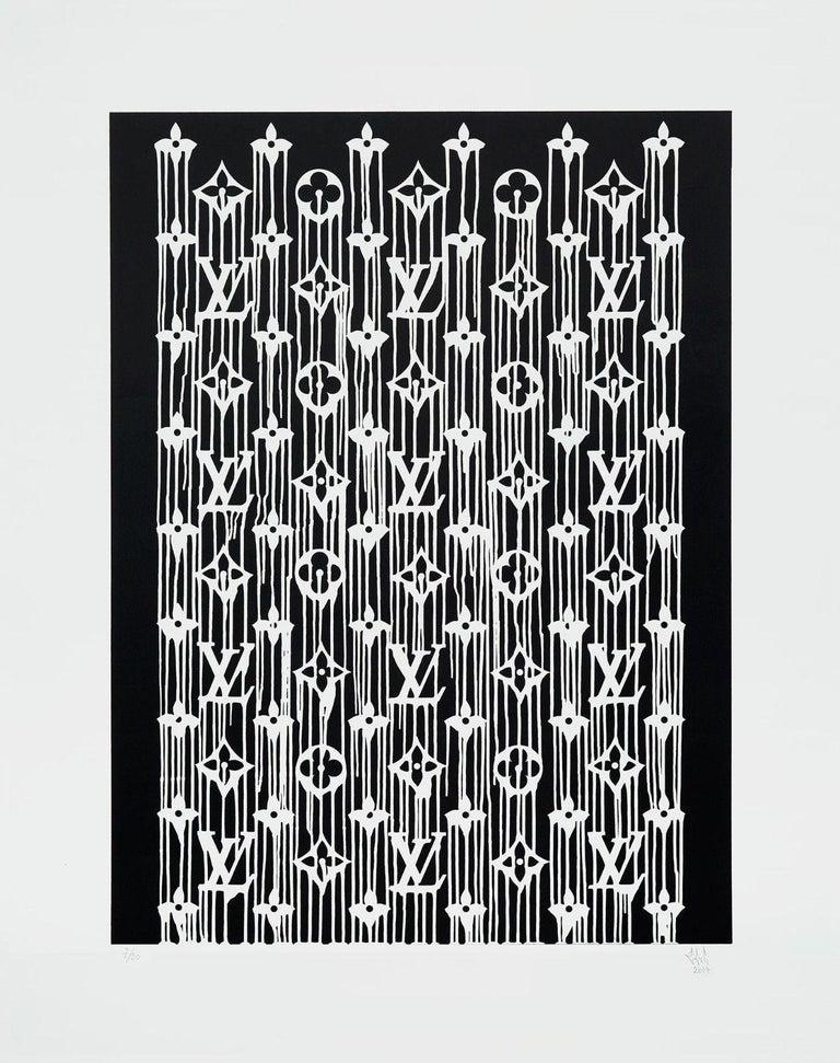 Zevs Figurative Print - Liquidated Louis Vuitton