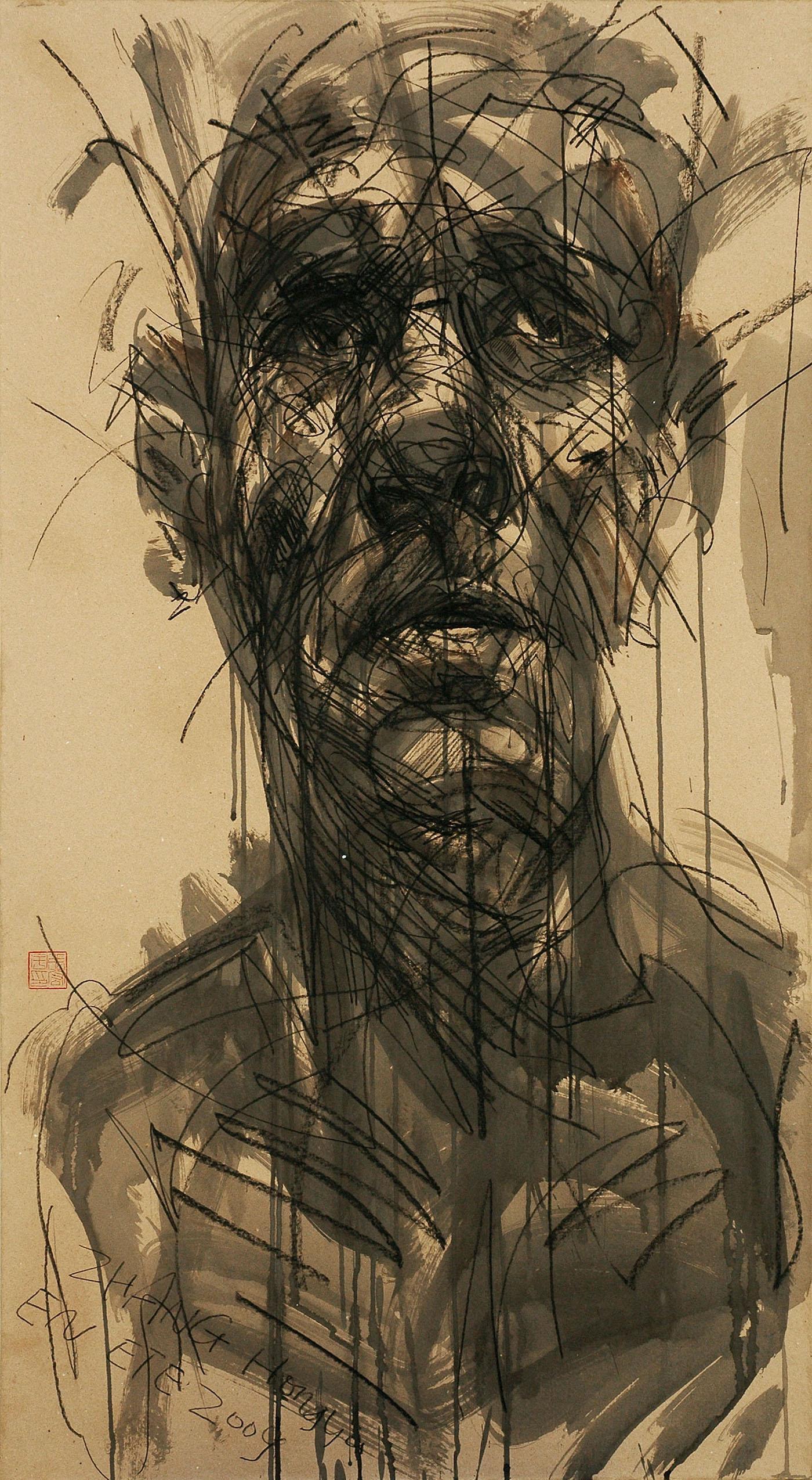 No. 105 (contemporary portrait painting)