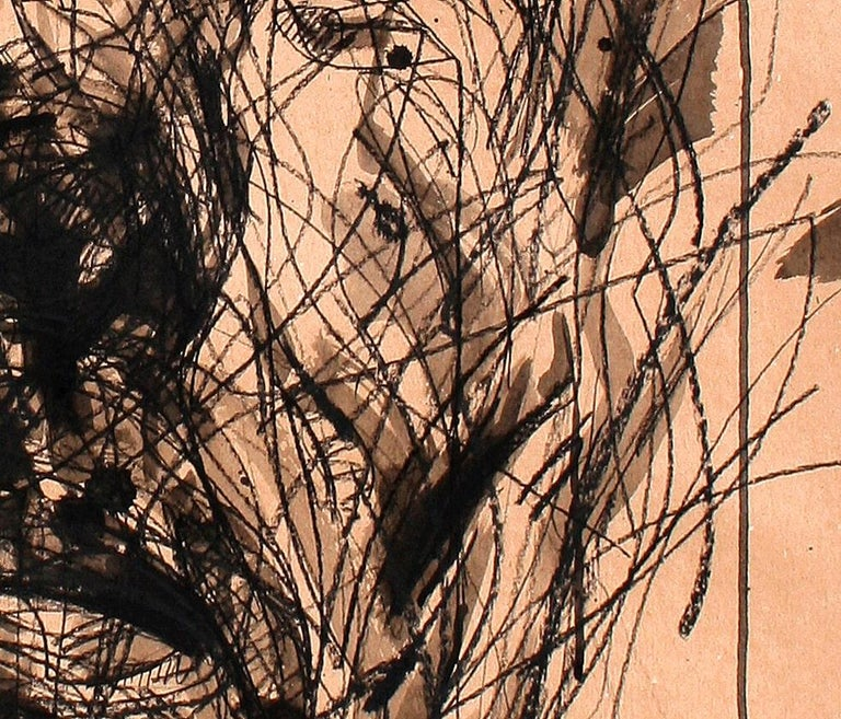 No. 161 (contemporary portrait painting) - Painting by Zhang Hongyu