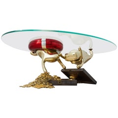 Zhipeng Tan, Brass Coffee Table, 'Treasures,' TanTan Collection