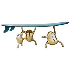 Zhipeng Tan, Brass 'Surf' Bench, TanTan Collection