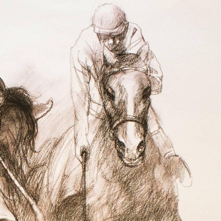 Equestrian - Original Lithograph by Zho Zhiwei - 2008 - Contemporary Print by Zhou Zhiwei