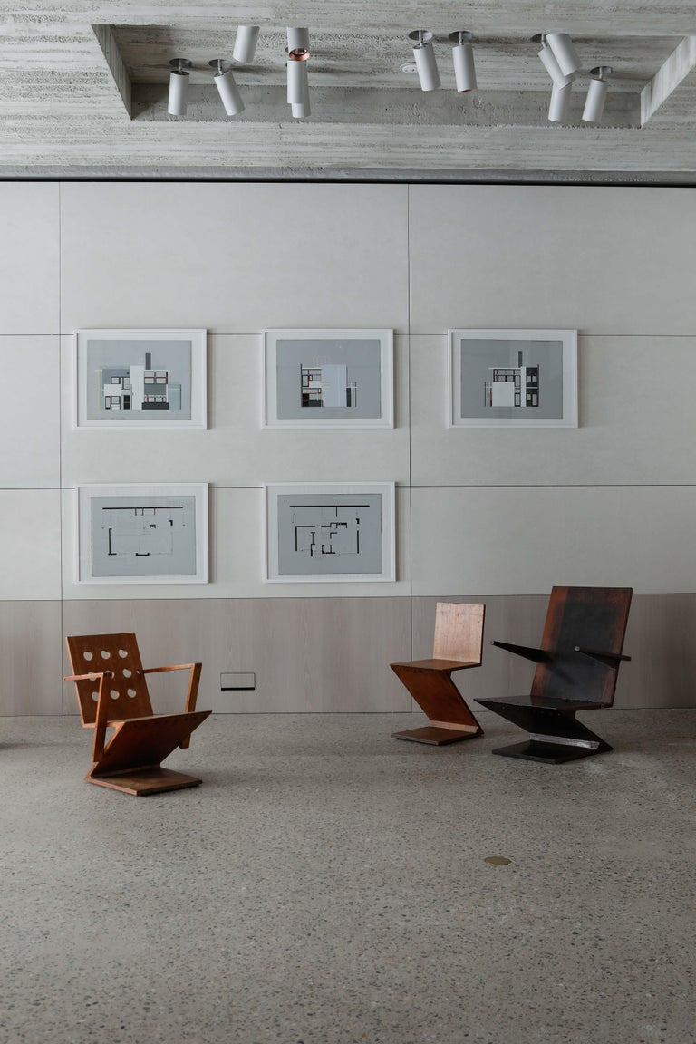 Zig-Zag Chair by G. Rietveld For Sale 7