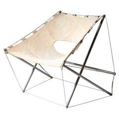 """Zig-Zag"" Lounge Chair by Jacques-Henri Varichon"
