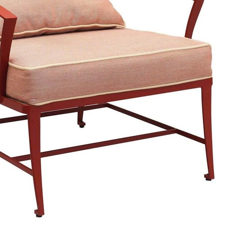 Italian Zig Zag Outdoor Armchair by Studio63 For Sale