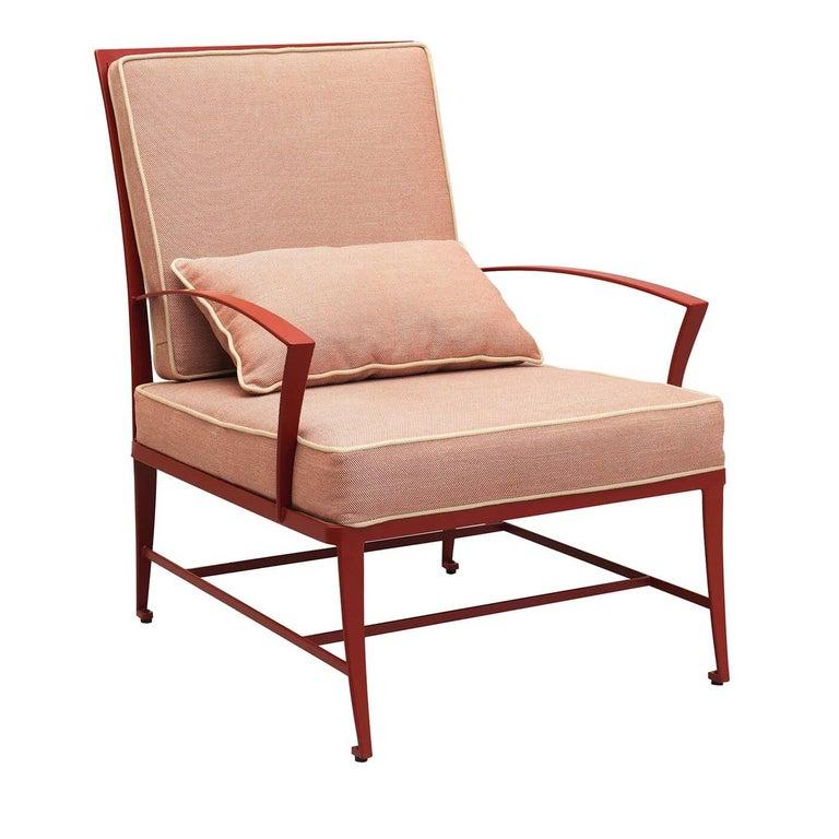 Zig Zag Outdoor Armchair by Studio63 For Sale