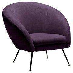 Ziggy Purple Armchair by Angeletti Ruzza
