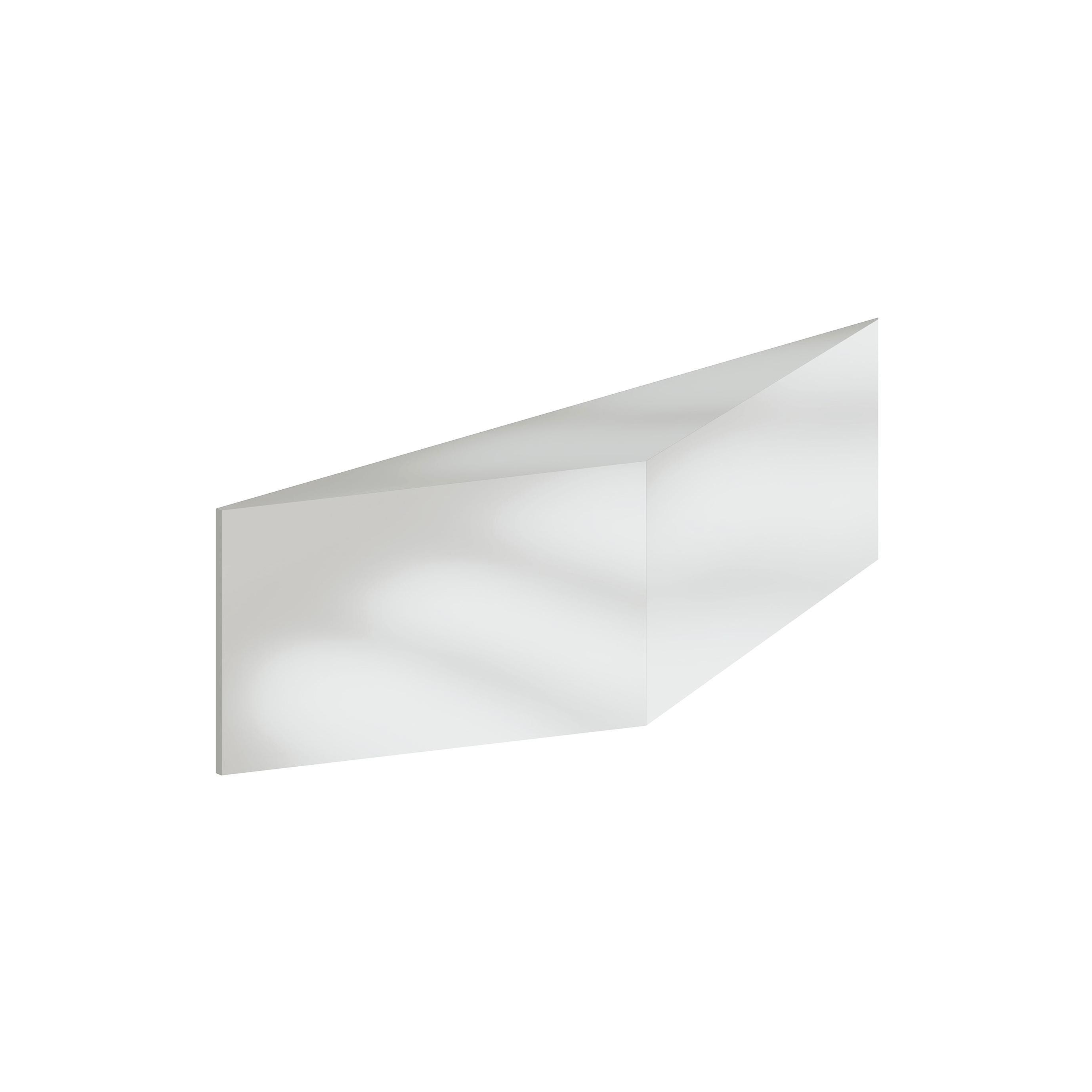 'Zigzag' Aluminium Mirror
