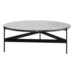 ZigZag Black Marquina Coffee Table