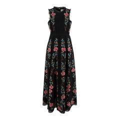 Zimmermann Laelia Embroidered Linen Dress - US Size 4