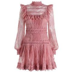 Zimmermann Mischief Lace Mini Dress