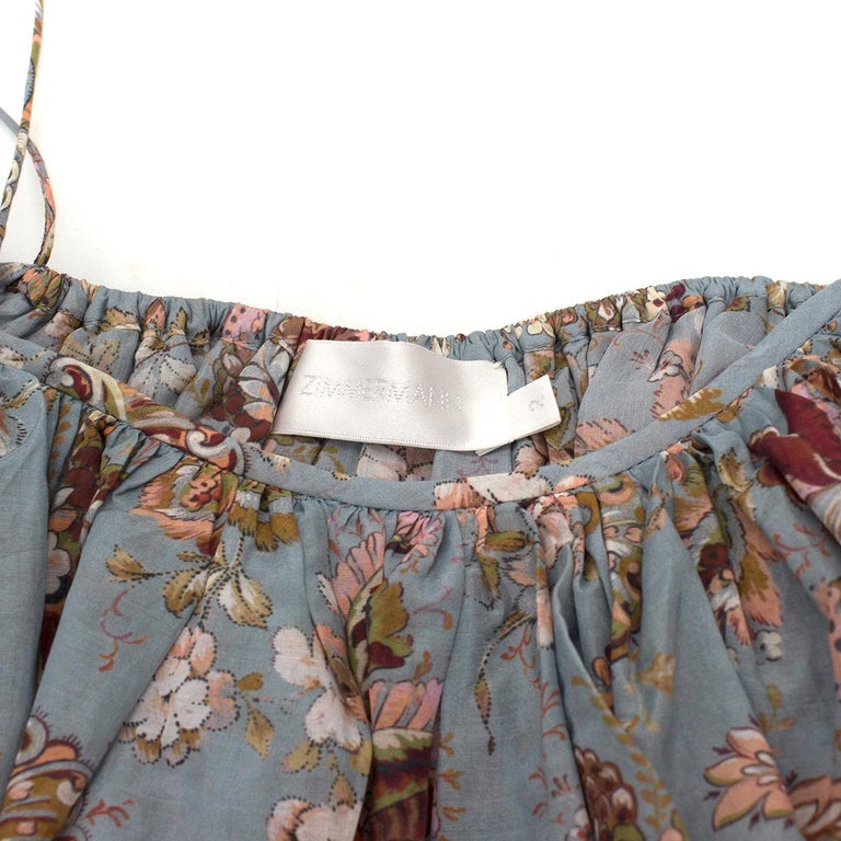 Zimmermann Pavilion off-the-shoulder top 2 In Excellent Condition For Sale In London, GB