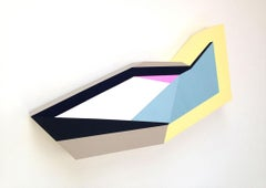 Polygon in Space #1, 2013, Zin Helena Song, Geometric Abstraction, Acrylic, Wood