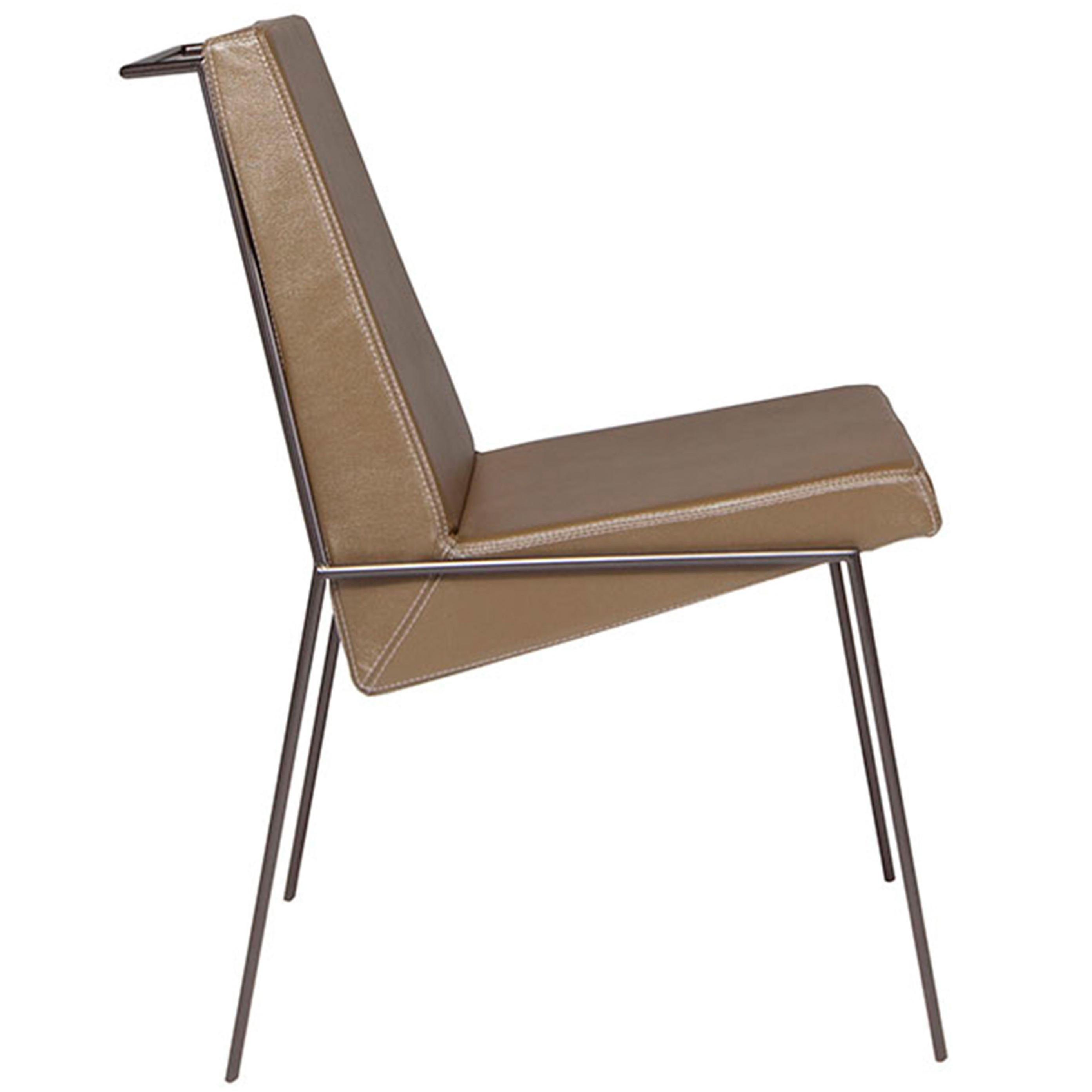 """""""Zina"""" Contemporary Side Chair, Brazilian Design by Zanini de Zanine Caldas,"""