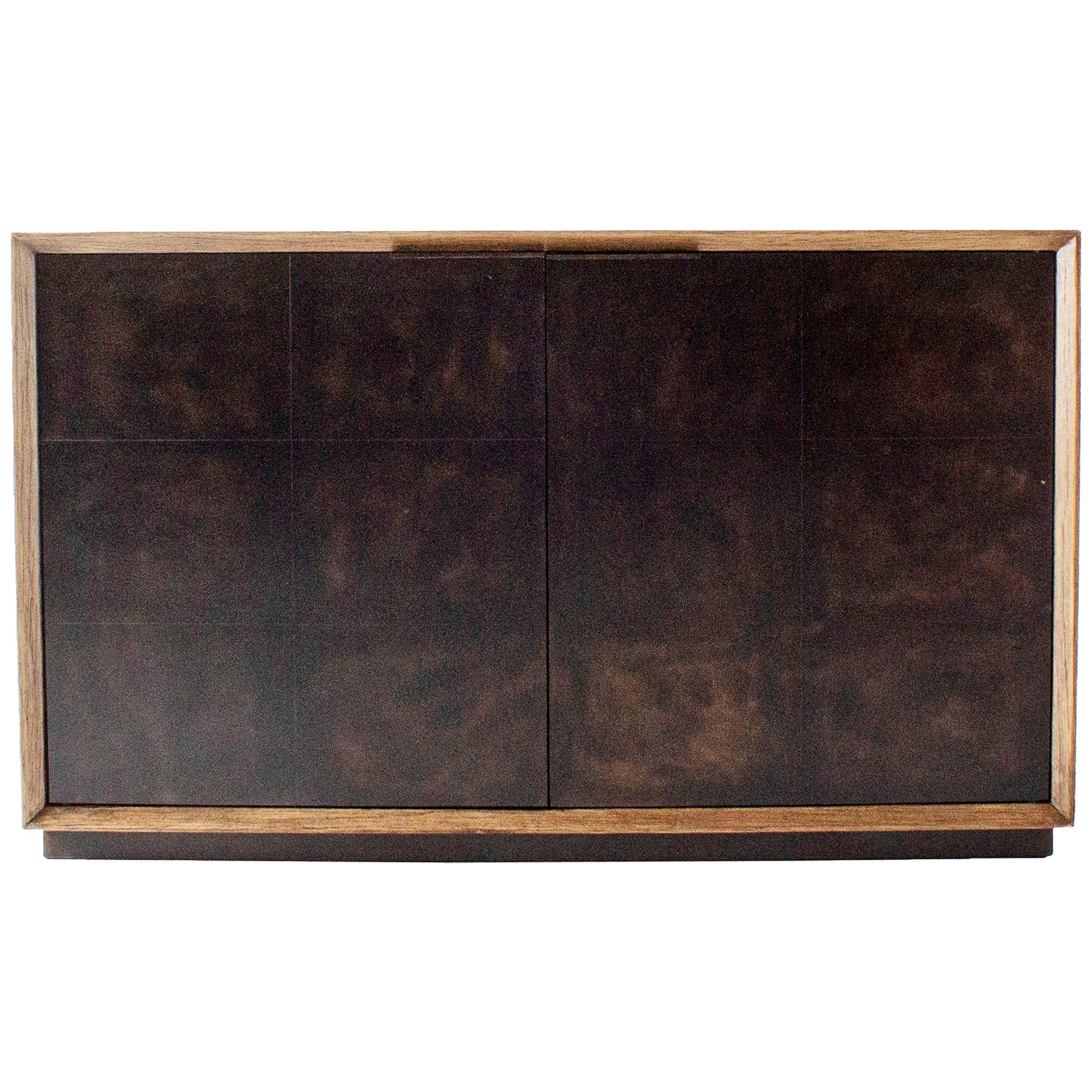 Modernist Inspired Two Door Cabinet