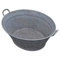 Zinc Tub from Hungary