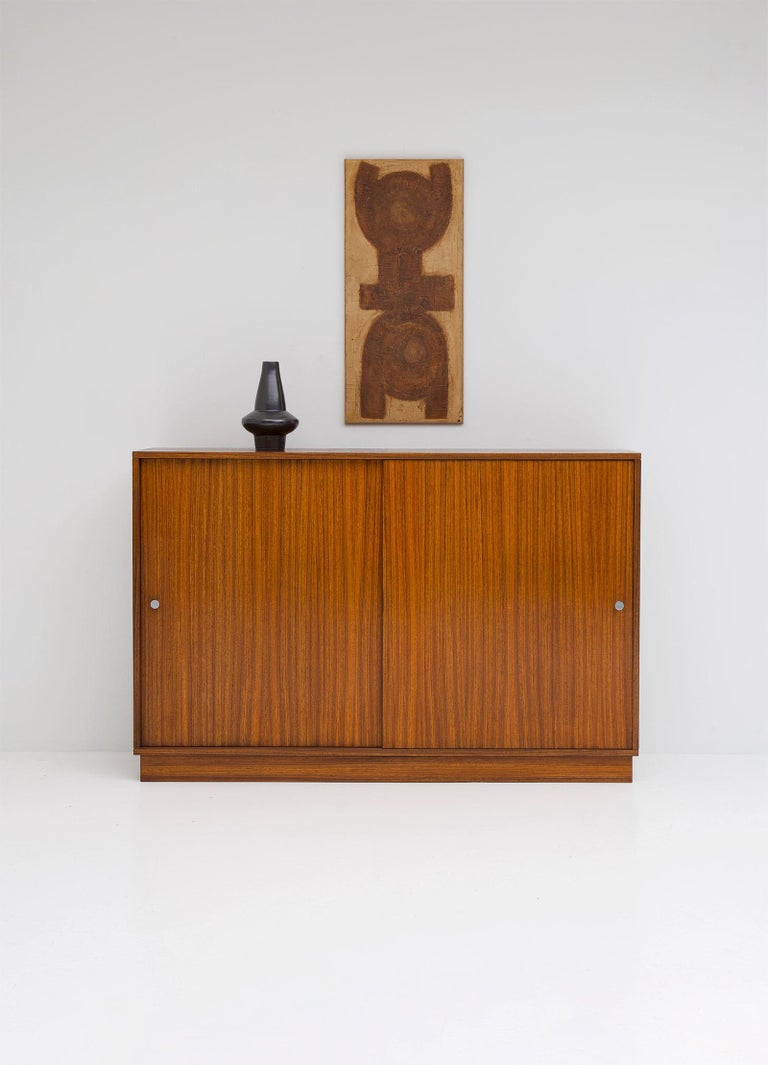 Mid-Century Modern Zingana Dresser by Alfred Hendrickx Belform, 1960s For Sale