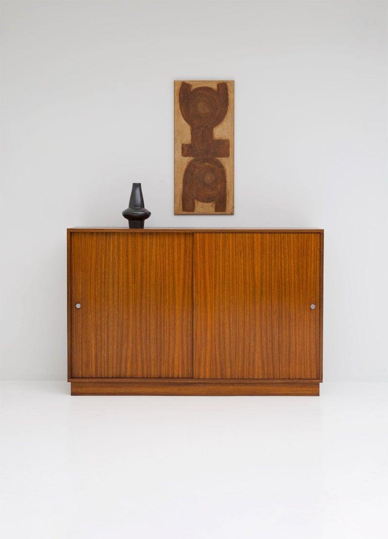 Belgian Zingana Dresser by Alfred Hendrickx Belform, 1960s For Sale